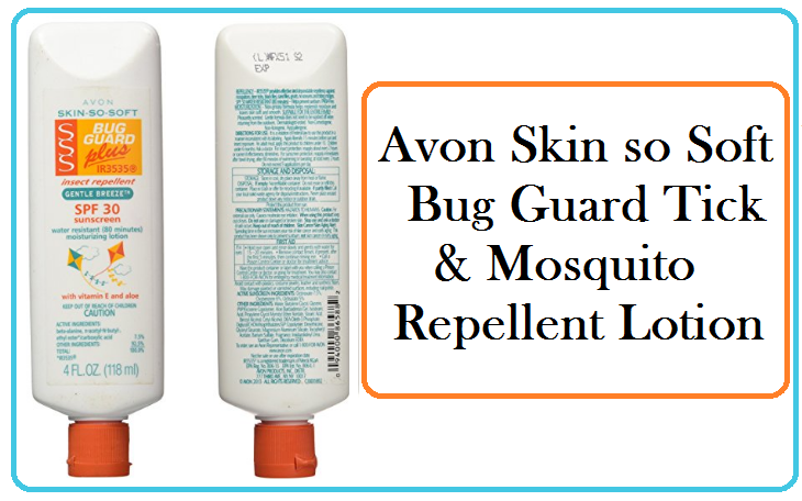 Avon Skin so Soft Tick, Mosquito and Gnat Bug Repellent | What is Lyme Disease?