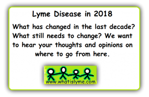 lyme patients discuss lyme disease